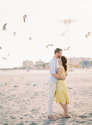 Engagement Photos Coney Island Jen Huang