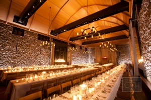 Estate Table Elegant Stone Barn Wedding