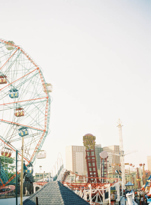 Ferris Wheel at Coney Island