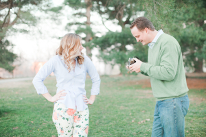 Floral Pants Engagement Fashion