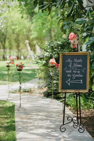 Garden Party for Bridesmaids