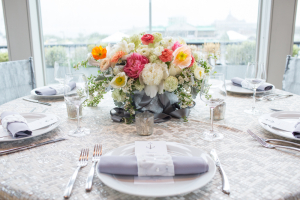 Gray and Pink Classic Tabletop
