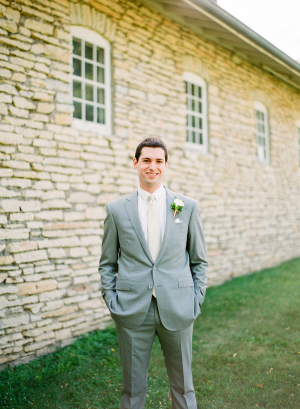 Groom Gray Suit