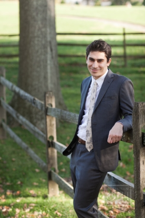 Groom Outdoor Portrait From Christian Oth Studio