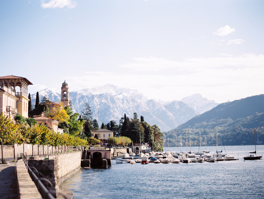 Harbor at Lake Como