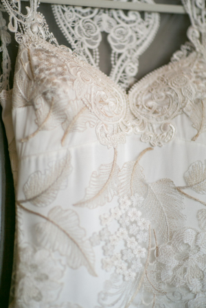 Intricate Embroidered Wedding Gown