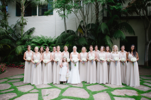Long Taupe Bridesmaids Dresses