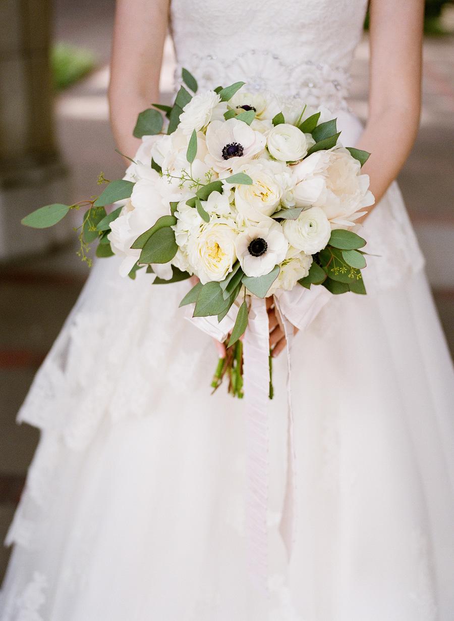 Loose White Bridal Bouquet Elizabeth Anne Designs The