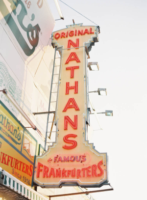 Nathans Hot Dogs Coney Island