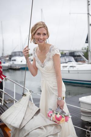 Nautical Bridal Style