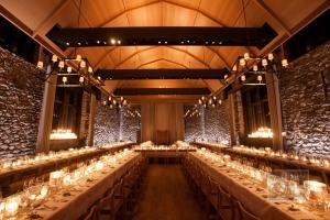 New York Reception Venue With Stone Walls