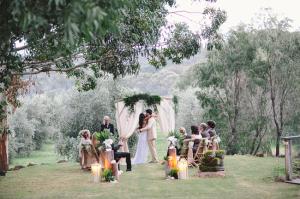 Outdoor Australian Wedding Ceremony