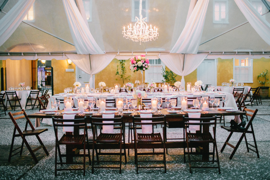 Outdoor Historic Charleston Reception Venue - Elizabeth Anne Designs The Wedding Blog