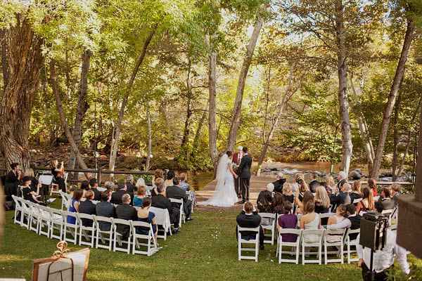 Inspiration Outoor Ceremonies: Classic Outdoor Sedona Wedding From Sloan Photographers