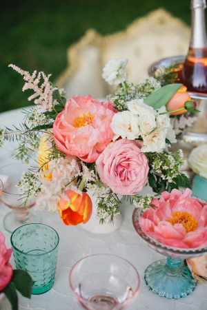 Pretty Shabby Chic Wedding Flowers