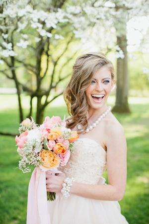 Pretty Summer Bride Inspiration