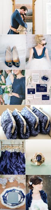 Prussian Blue Wedding Colors