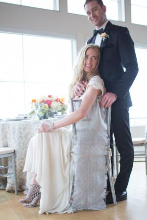 Rhinestone Caged Bridal Booties