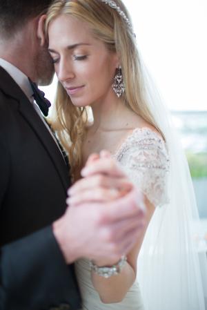 Rhinestone Chandelier Bridal Earrings