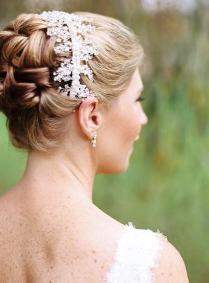 Rhinestone Headband Bridal Hair Ideas