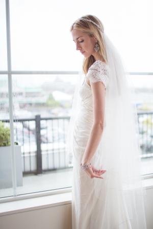 Rhinestone Headband for Bridal Veil