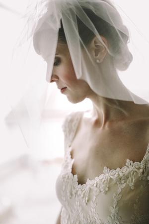 Romantic Blusher Veil