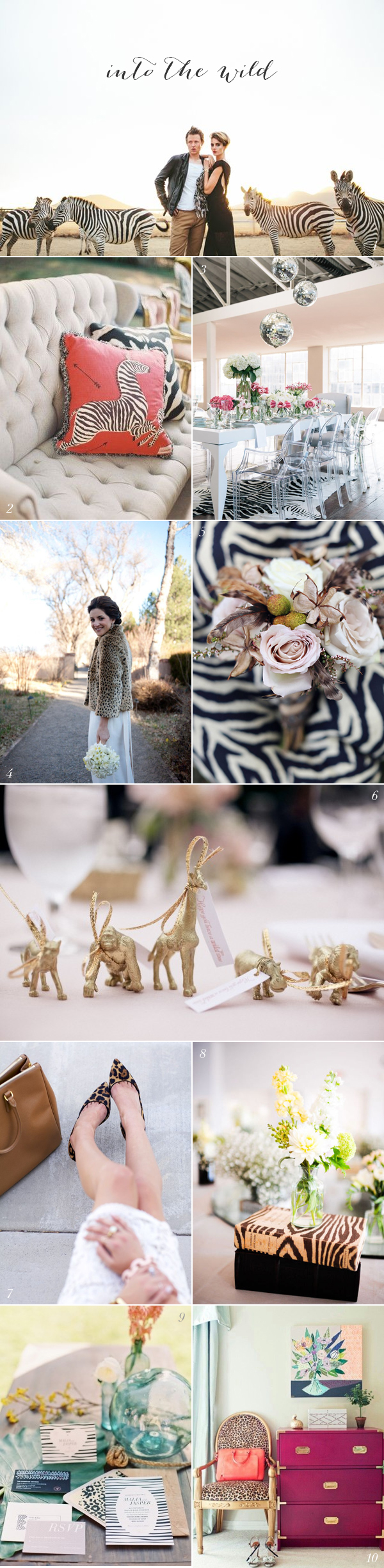 Safari Wedding Ideas