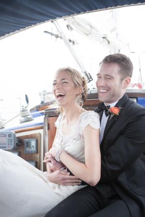 Sailing Inspired Wedding Shoot