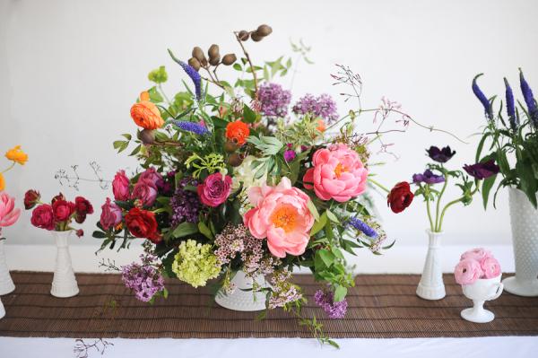Summer Centerpiece Amy Nicole Florals