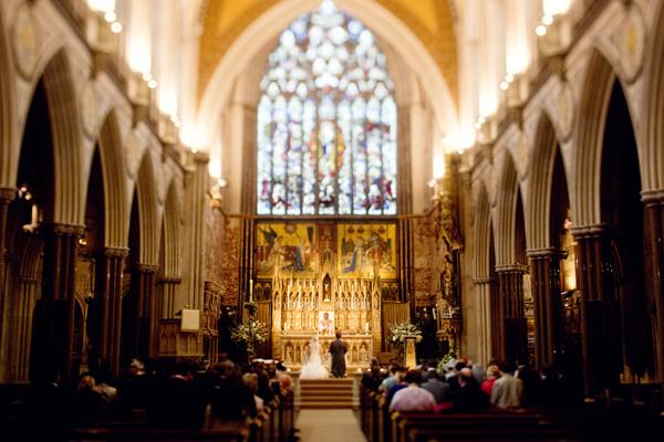 Surrey Cathedral Wedding
