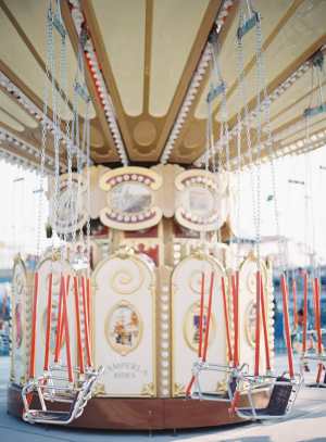 Swings at Coney Island