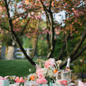 Tea Party Bridesmaids Inspiration