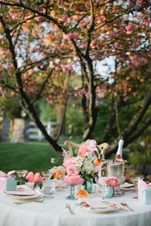 Tea Party Bridesmaids Inspiration