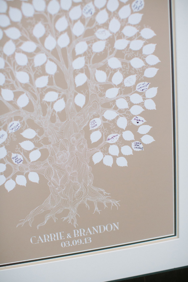 Tree Branch Guest Book
