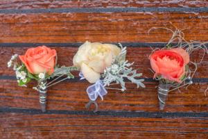 Unique Rose Boutonnieres