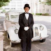 Vintage Chauffeured Car