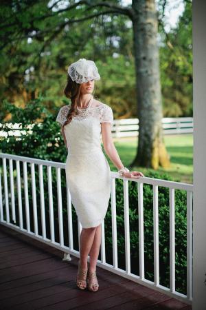 Vintage Lace Bridesmaids Dress