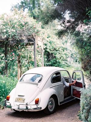 Vintage Volkswagen Getaway Car