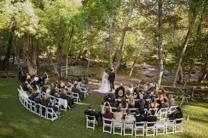 Wedding Ceremony Chairs Rounded
