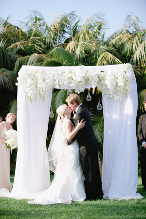 White Wedding Canopy