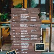 Wood Plank Menu