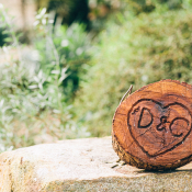 Wood Wedding Carving