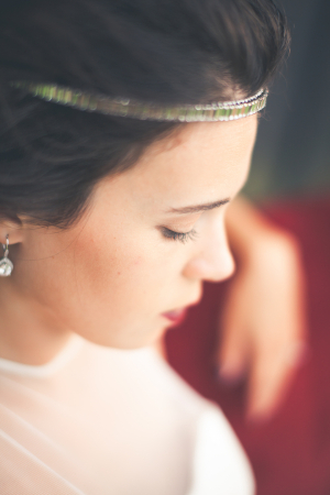 Art Deco Headband Bridal Hair Ideas