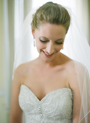 Beaded Bridal Gown With Sweetheart Neckline