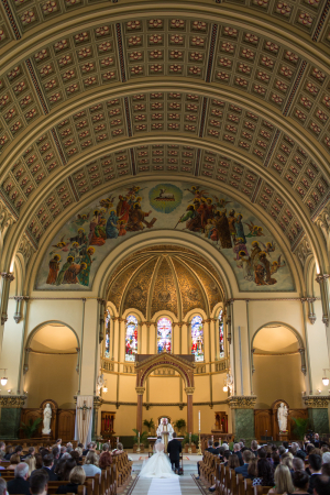 Beautiful Chicago Cathedral Wedding