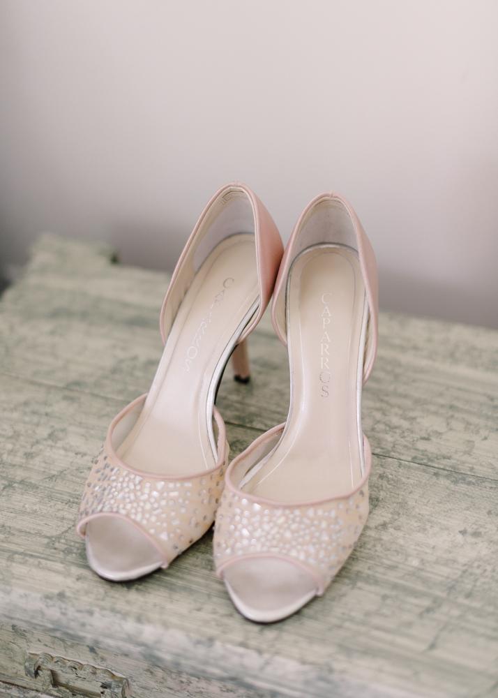 Blush Color Wedding Shoes
