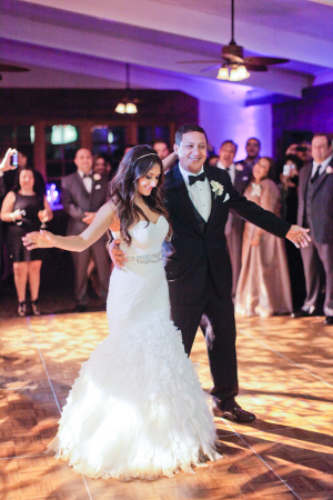 Bride and Groom First Dance From Alders Photography