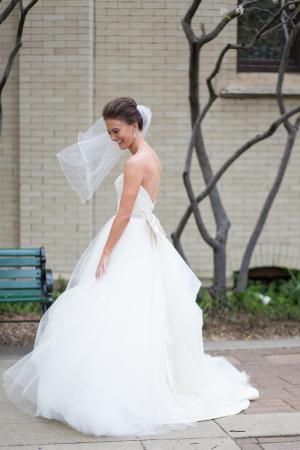 Bride in Tara Keely Gown