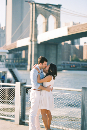 Brooklyn Bridge Engagement Photos Carmen Santorelli