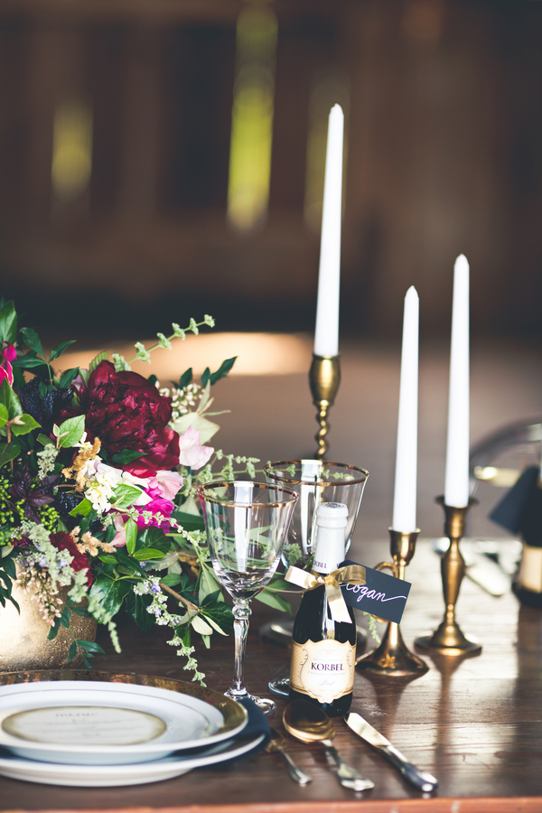 Candlesticks Wedding Table
